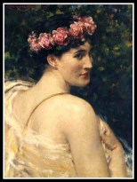 """Diana"" by James Carroll Beckwith (19th Century)."